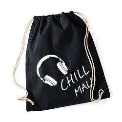 "Turnbeutel ""Chill mal"""